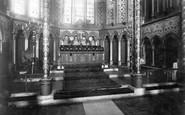 Andover, St Mary's Parish Church, The Chancel 1899