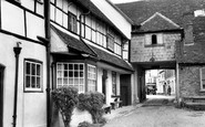 Andover, The Angel Inn c.1950