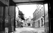 Andover, The Newbury Street From The Angel Inn c.1950