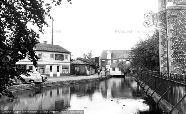Andover, The River Anton c.1960