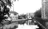Andover, The River Anton c.1960