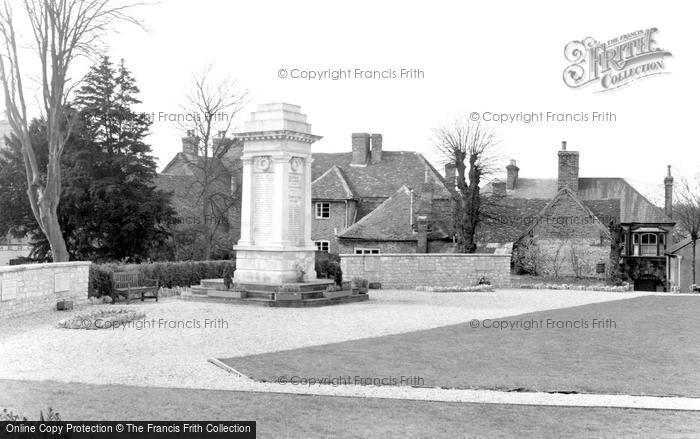 Andover, The War Memorial c.1960
