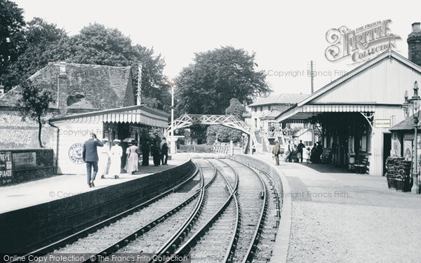 Andover, Town Station 1908