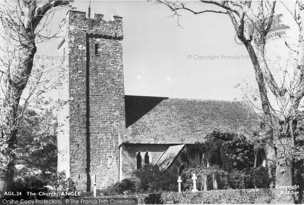 Angle, St Mary's Church c.1955