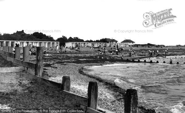 Angmering On Sea, Beach Chalets c.1955
