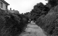 Angmering On Sea, Sea Lane c.1955