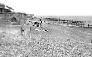 Angmering-on-Sea, The Beach c.1960