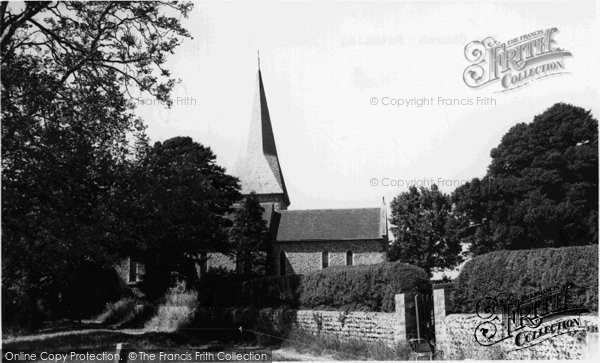 Angmering, The Church Patching c.1960