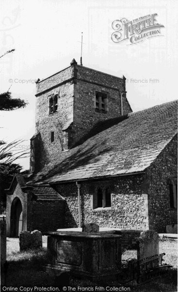 Angmering, The Church Poling c.1960
