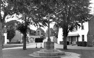 Angmering, The Village Green c.1955