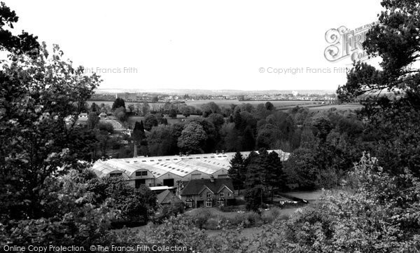 Anna Valley, From Bury Ring c.1955