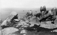 Annet, View Of Western Rocks 1891