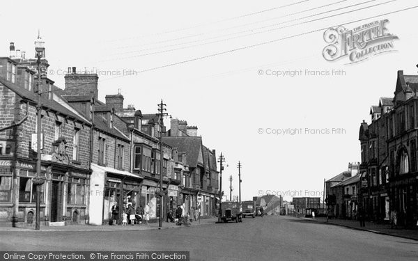 Annfield Plain, Front Street 1951