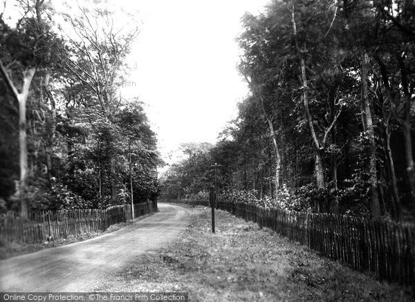 Ansdell, Entrance To Fairhaven Golf Links 1927