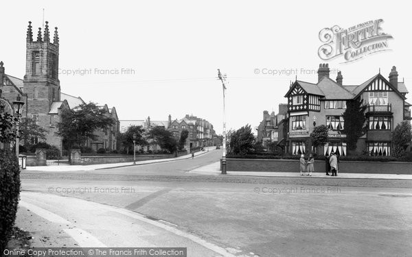 Ansdell, Woodlands Road 1927