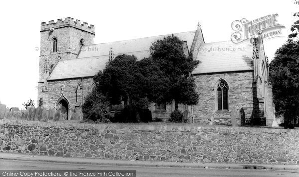 Anstey, St Mary's Church c.1965