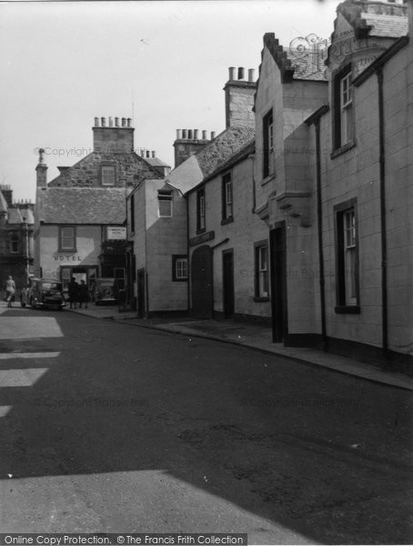 Anstruther, Easter, Commercial Hotel 1953