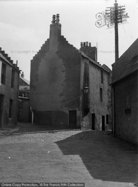 Anstruther, Easter, House In Cards Wynd 1953