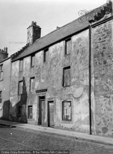 Anstruther, Wester, High Street 1953
