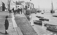 Appledore, Boy On The Quay 1907