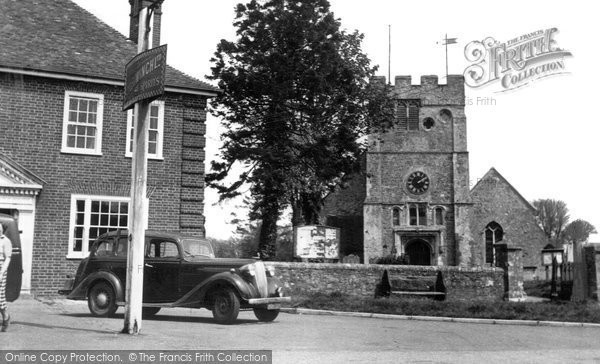 Appledore, Church Of St Peter And St Paul c.1955