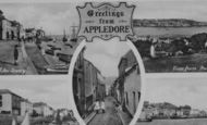 Appledore, Composite c.1950