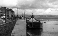 Appledore, Ferry At The Quay c.1955
