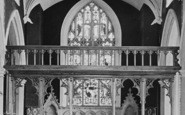 Appledore, St Mary's Church, Rood Screen 1912
