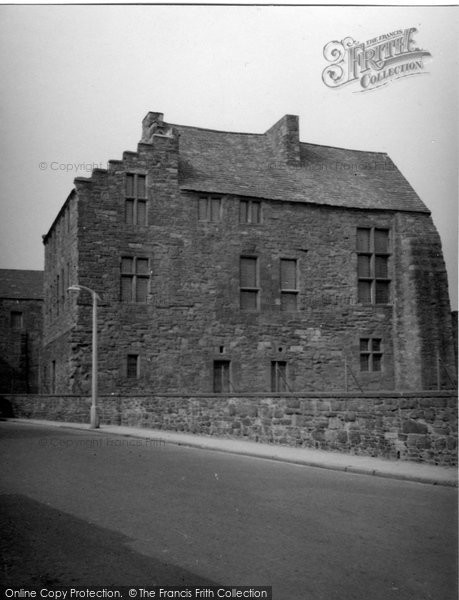 Arbroath, Abroath Abbot's House 1956