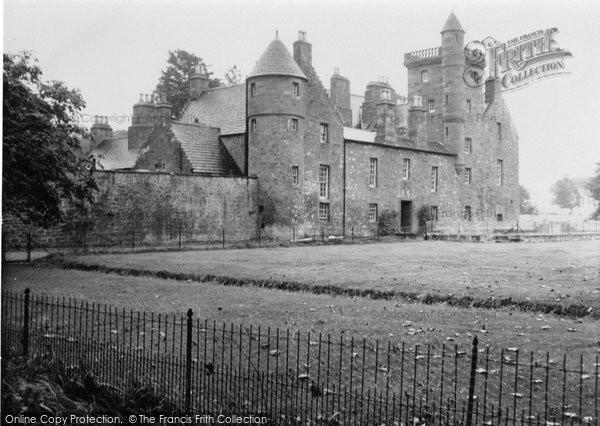 Arbroath, Ethie Castle 1950