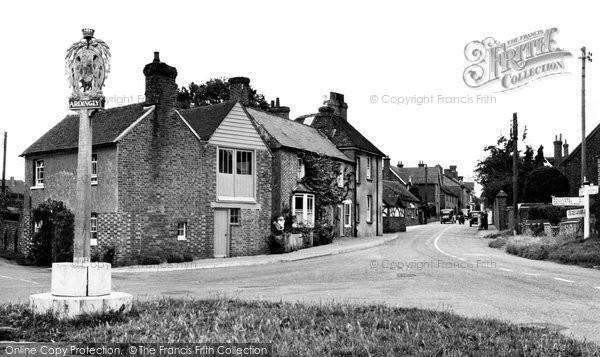Ardingly, Crossroads c.1955