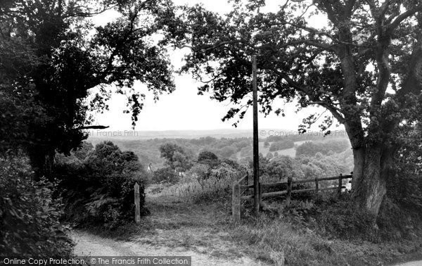 Ardingly, The South Downs c.1955