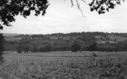 Ardingly, View From Town House c.1955