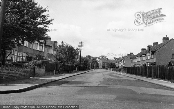 Ardleigh Green, Harwood Avenue c.1955