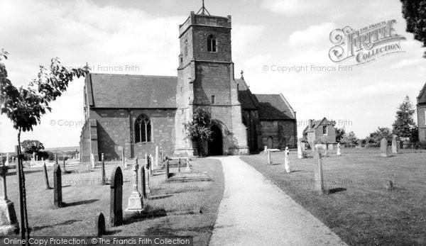 Areley Kings, Church Of St Bartholomew c.1965
