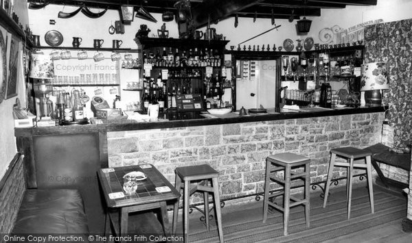 Arkengarthdale, The Bar, Red Lion Hotel c.1965