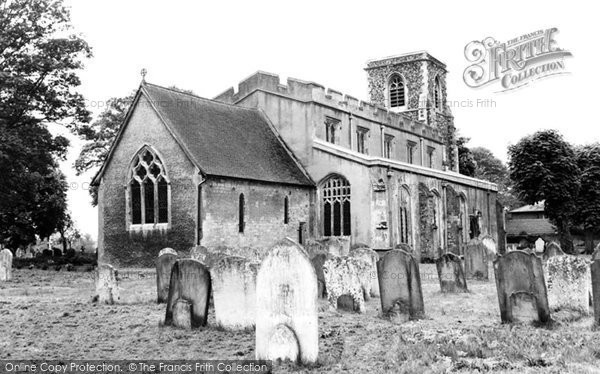Arlesey, St Peter's Church 1960