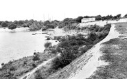 Arlesey, the Blue Lagoon c1965