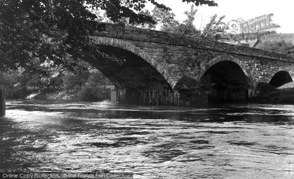 Armathwaite, Eden Bridge And River c.1955