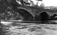 Armathwaite, Eden Bridge And River c.1955