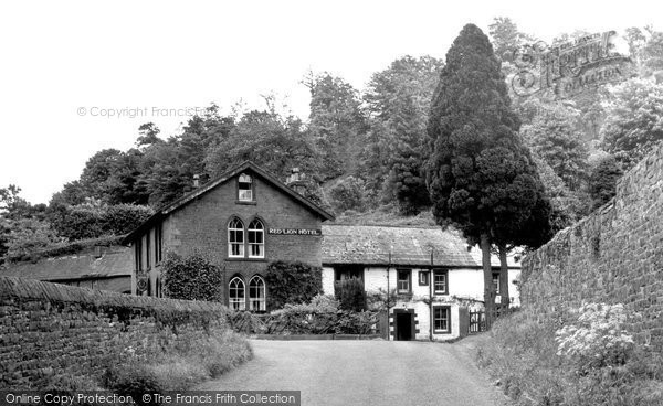Armathwaite, The Red Lion Hotel c.1965