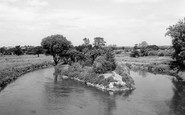 Armitage, The River Trent c.1960