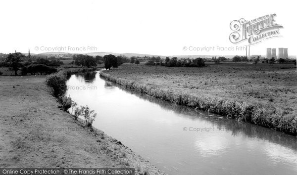 Armitage, The River Trent c.1960