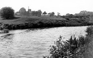 Armitage, Trent And Mersey Canal And Church c.1960