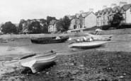 Arnside, Boats On The Beach 1894