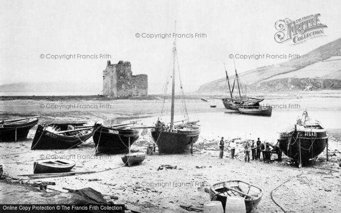 Arran, The Castle And Loch Ranza c.1890