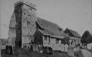 Arreton, Church c.1875