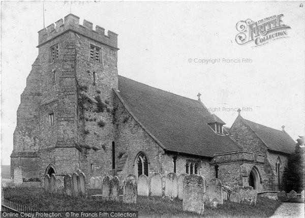 Arreton, St George's Church c.1900