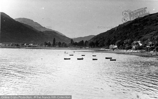Arrochar, Head Of Loch Long c.1955