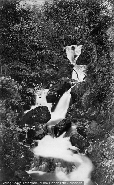 Arthog, Upper Fall c.1876